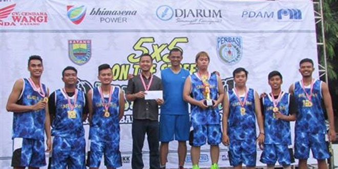 Turnamen Basketball Dandim Cup 2016