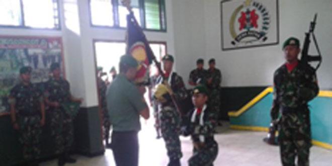 Tradisi Korp Raport Prajurit Pindah Satuan Yonif 406/CK