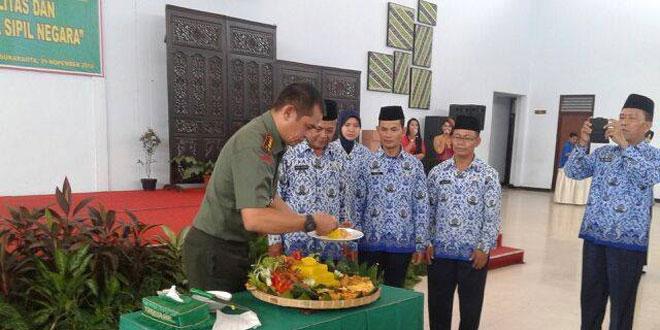Semarak HUT Korpri Unit Korpri TNI se Kota Surakarta