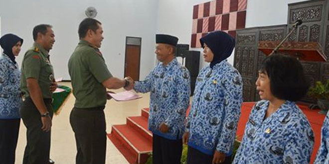 Peringatan HUT Korpri Unit TNI Surakarta