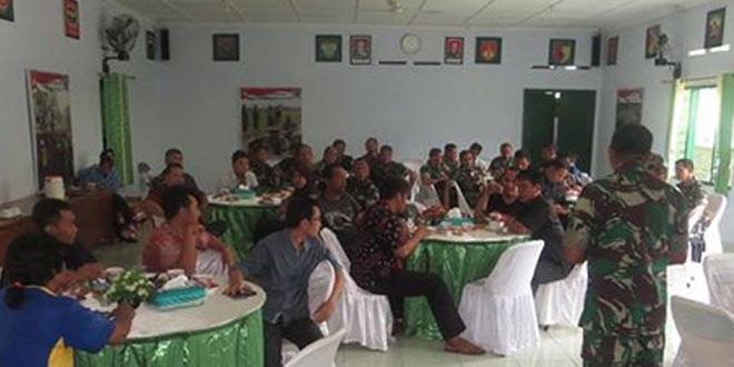 Prajurit Kodim 0731/Kulon Progo Jalin Silaturahmi dengan Wartawan