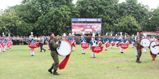 Apel Kebhinekaan dalam Rangka Menjaga Keutuhan NKRI di Alun-alun Klaten