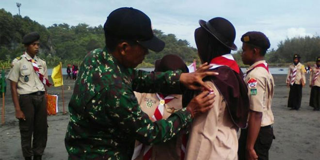 Danramil Lantik Sakawira Kartika Angkatan Ke-Ix Koramil 03/Kroya