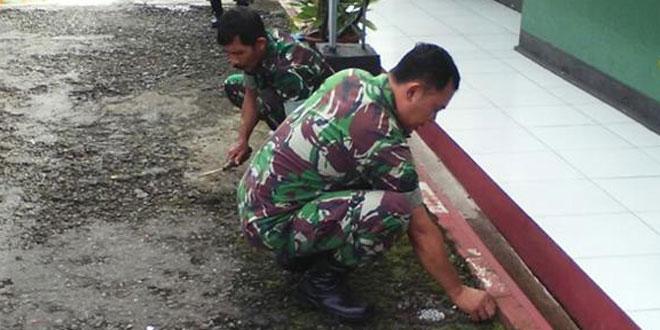 Babinsa Koramil 03/Parakan Komitmen Jumat Bersih