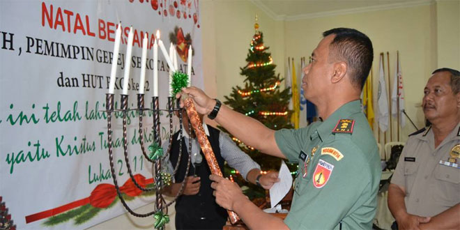 Natal Bersama Sesepuh, Pemimpin Gereja se Kota Salatiga