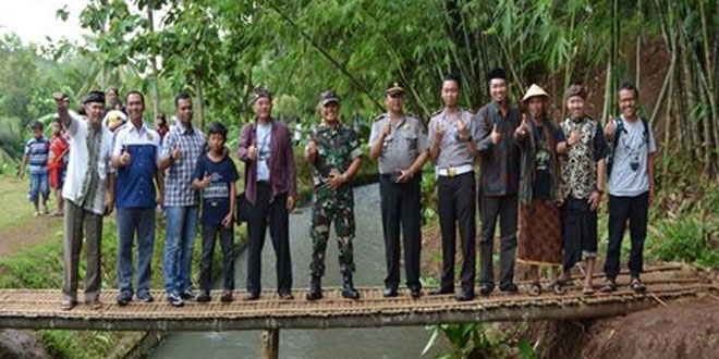 Peresmian Kampung Penjawi di Kecamatan Susukan