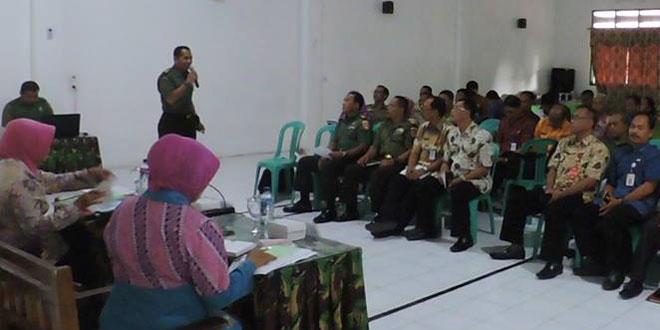 Kodim 0717/Purwodadi Sosialisasi TMMD Tahun 2017
