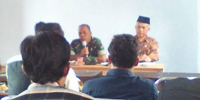 Babinsa Koramil 03/Parakan Menghadiri Pertemuan Gapoktan Se Kecamatan Kledung