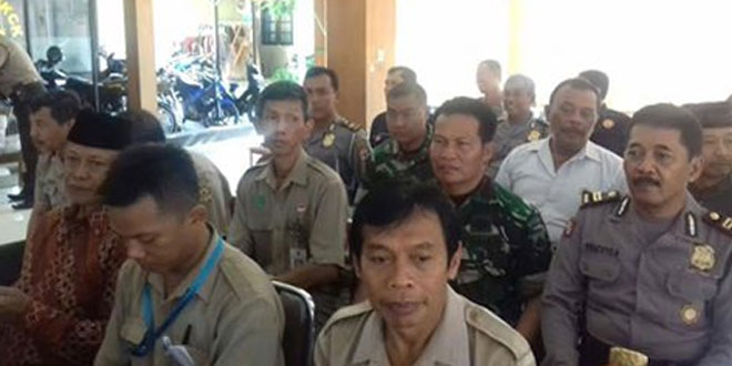 Babinsa Panembahan Koramil 11/Kraton Mengikuti Pengajian di Wilayah