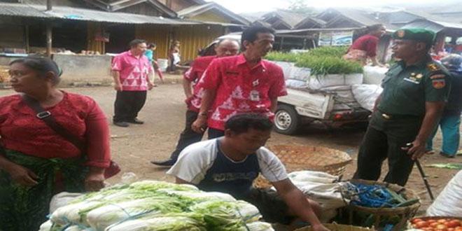 Pemantauan Harga Sembako dan Cabai di Pasar Jetis