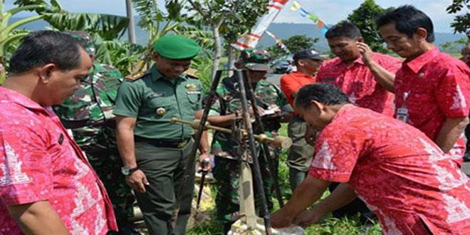 Dandim 0714/Salatiga Menghadiri Kegiatan Panen di Wilayah Koramil 11/Jambu