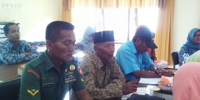 Babinsa Koramil 06/Ngaglik Hadiri Musrenbang Desa Sariharjo