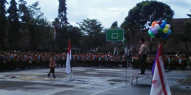 Babinsa Koramil 03/Parakan Serka Suyanto Menghadiri Pesta Siaga
