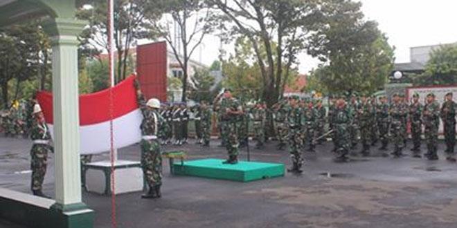 Amanat Panglima TNI Dibacakan pada Upacara Bendera 17-an Awal Tahun 2017