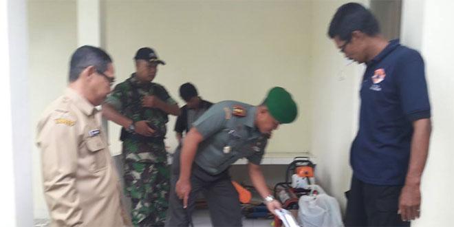 Dandim 0705/Magelang Bersama Kepala BPBD Cek Posko Aju Penanggulanan Bencana