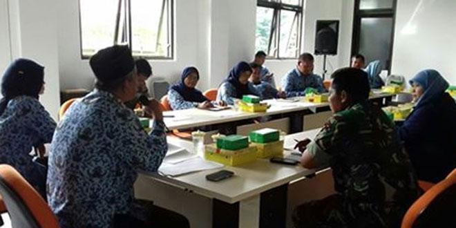 Danramil 05/Sleman Hadiri Rakorpim Tingkat Kecamatan
