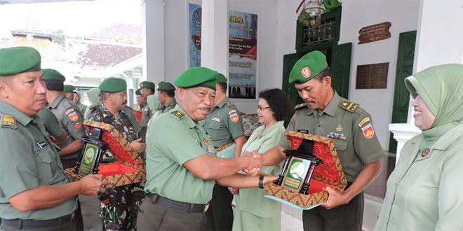 Upacara Pelepasan MPP Anggota Kodim 0717/Purwodadi