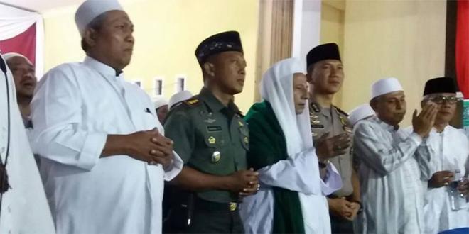 Komandan Kodim Hadiri Puncak Peringatan Maulid Nabi Muhammad SAW Bersama Habib Lutfi