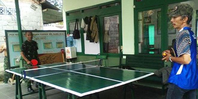 Dengan Olah Raga Tenis Meja Sebagai Binjaringter di Wilayah
