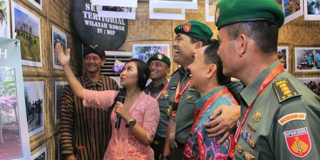 KODAM IV/DIPONEGORO MERIAHKAN PAMERAN ALPALHAN DAN ALSINTAN DI MABES TNI