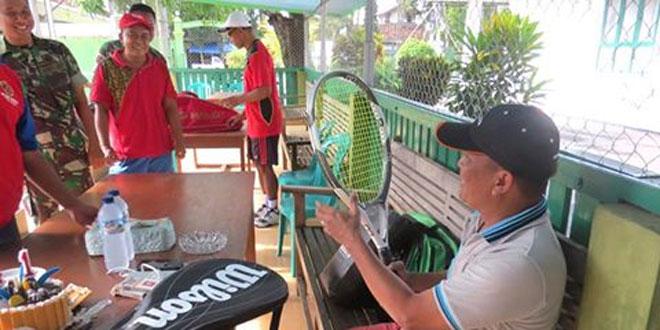 Ulang Tahun Dandim 0717/Purwodadi Dirayakan Dengan Tenis Lapangan Bersama
