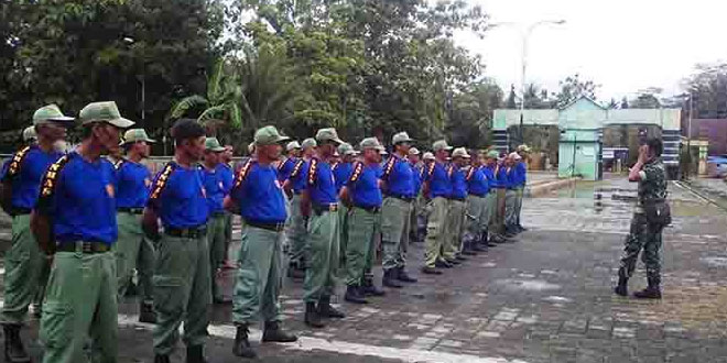 Babinsa Koramil 01/Kebumen Lakukan Serbuanter Bina Linmas