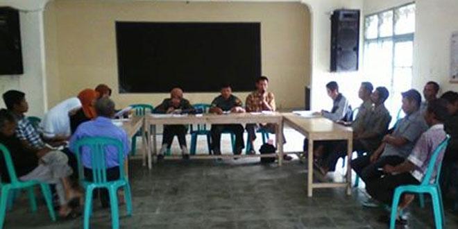 Babinsa Koramil 03/Parakan Menghadiri Rapat Gapoktan Kitri Anom Sari