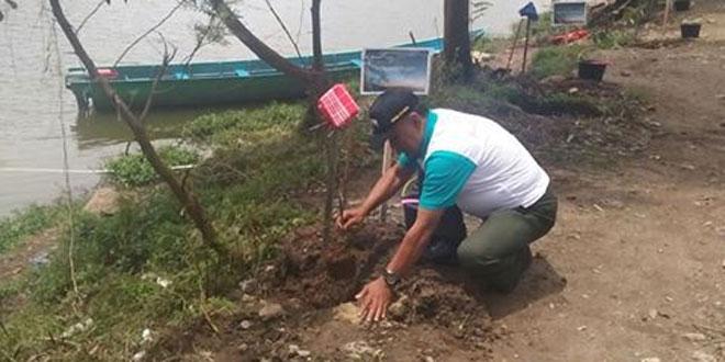 TNI Andil Hijaukan Sikunir dan Telaga Cebong
