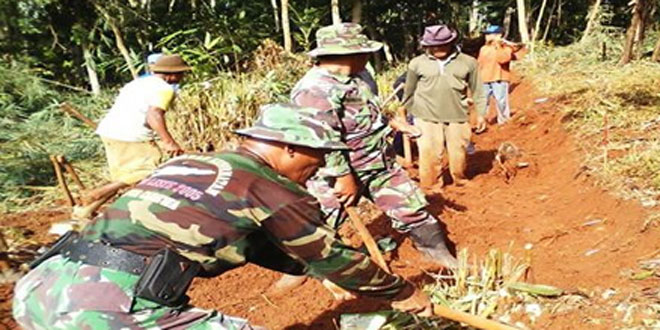 Dandim 0710 : Ini Wujud Kemanunggalan TNI Rakyat