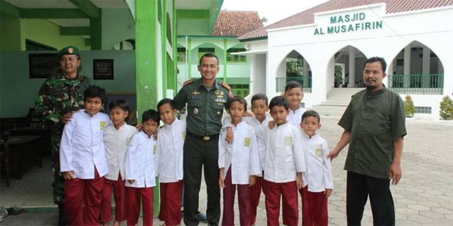Silaturahmi Dandim 0735/Ska dengan Pimpinan Yayasan Al Kahfi Hidayatullah Kel. Mojosongo