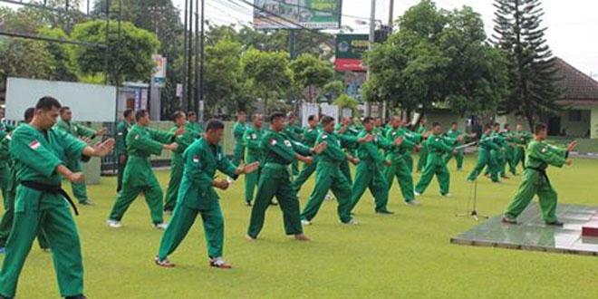 Tentara Kodim 0734/Yogyakarta Asah Kemampuan Beladiri Yongmoodo