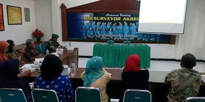 Danramil 03/Serengan Menghadiri Mini Lokakarya Lintas Sektoral di UPT Puskesmas Kratonan