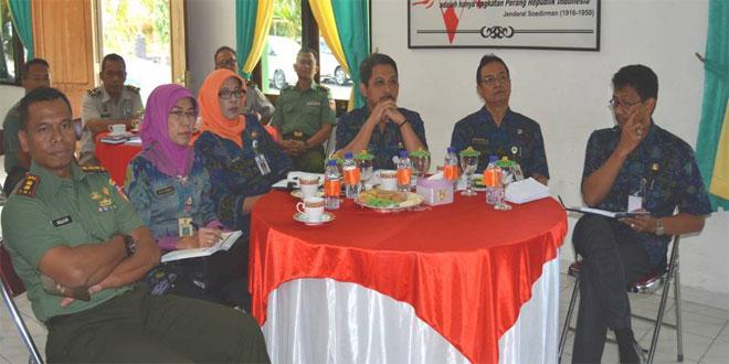 Rapat Koordinasi Bersama Forkopinda Di Kodim 0714/Salatiga.
