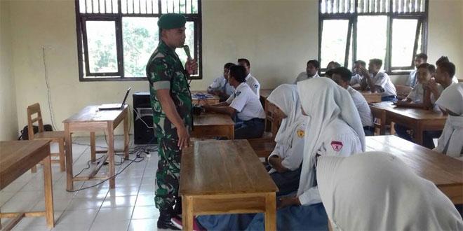 Wawasan Kebangsaan Di SMA Islam Sudirman Danramil 18/Kedungjati Dim 0717/Purwodadi