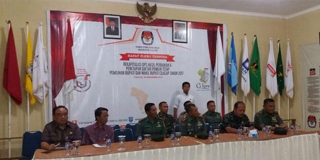 Menjelang Pilkada Gubernur Jawa Tengah Cek Kesiapan KPU Kabupaten Cilacap