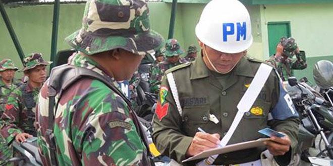 Demi Tegaknya Citra TNI Kodim Demak Adakan Operasi Gaktib Bersama Subdempom IV/3-2 Pati