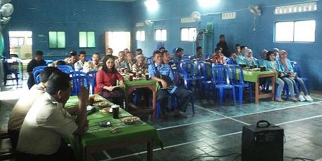 Babinsa Desa Blimbing Rakor Berakhirnya KKN Mahasiswa UNS