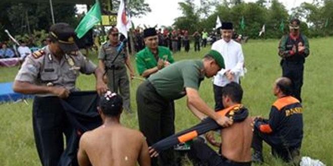 Dandim 0706/Temanggung Membuka Diklat Banser Ke XIII Se Kabupaten Temanggung