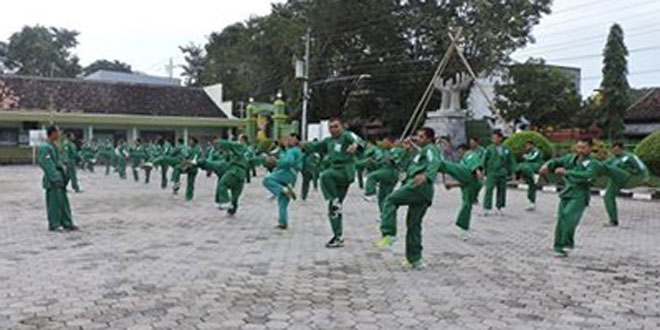 Minggu Militer Kodim 0717/Purwodadi Diisi dengan Latihan Yongmoodo