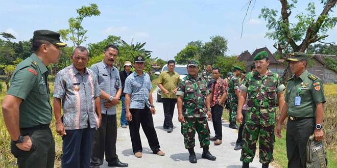 Wasev Mabes TNI-AD Kunjungi Kodim Demak