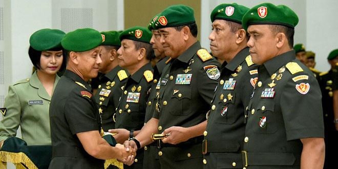 Mayjen TNI Jaswandi Dilantik Menjadi Pangdam Jaya