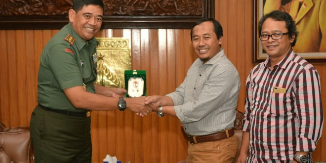 Pangdam IV/Diponegoro Menerima Audiensi Pemimpin Redaksi Jateng Pos