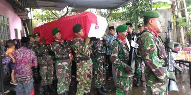 Penghormatan Terahir kepada Veteran Pahlawan Kemerdekaan