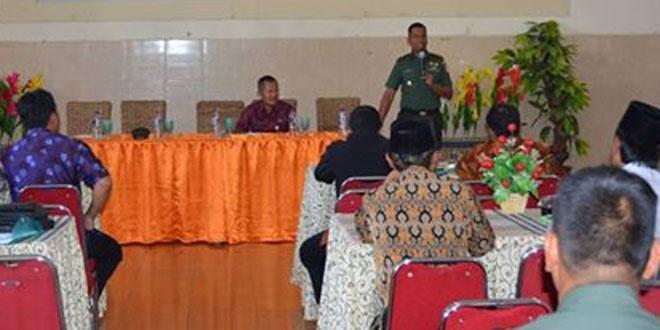 Kegiatan Penyuluhan dan Pembinaan Ormas se Kab Semarang oleh Dandim 0714/Salatiga di Kec Tuntang Kab Semarang