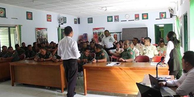 Kodim Kulon Progo Sosialisasi Pajak Penghasilan