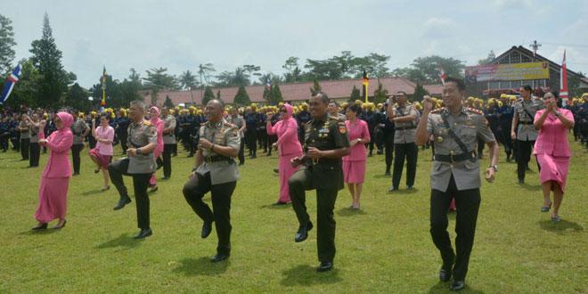 Danrem 071/Wk Hadiri Pelantikan Seba Polri Polda Jawa Tengah