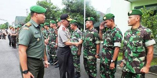 Kapolda Jawa Tengah Silaturahmi ke Kodim 0701/Banyumas