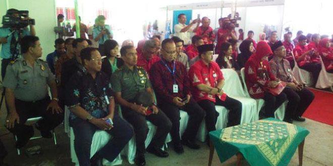 Pabung Kodim 0714/Salatiga Menghadiri Acara JOB FAIR Tahun 2017 Di SMK NU Ungaran Kabupaten Semarang.