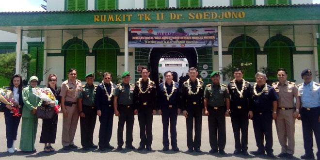 Royal Thai Armed Forces Headquarters Medical Officer Kunjungi RST Tk. II dr. Soejono