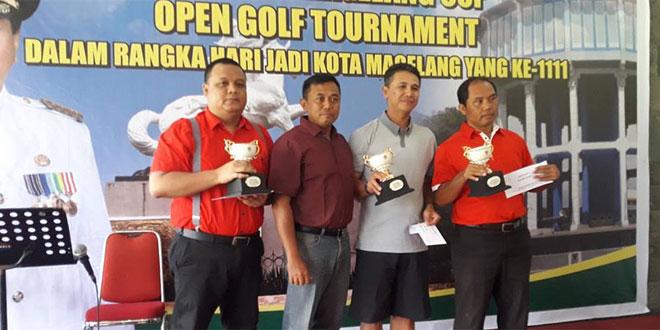 Open Golf Tournamen Awali Rangkaian Hari Jadi Kota Magelang